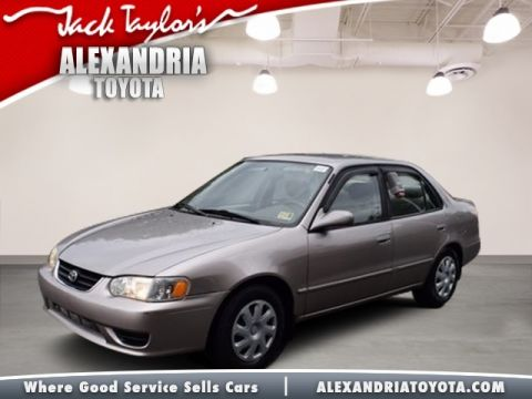 Pre Owned 2002 Toyota Corolla LE