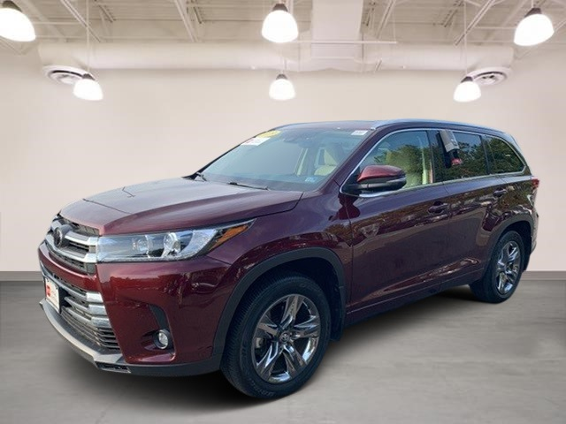 Toyota Highlander Limited >> Certified Pre Owned 2019 Toyota Highlander Limited Platinum Awd